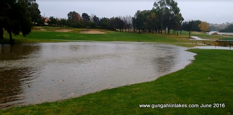 1-Flooding 14th fairway 5 June 2106